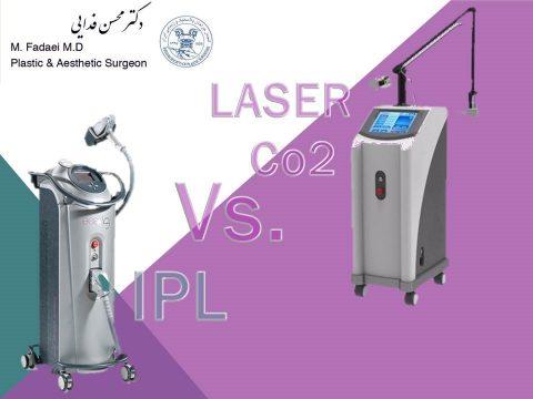 لیزر Co2 یا IPL